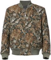 Engineered Garments Hummingbird jacquard bomber jacket
