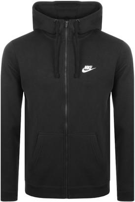 Nike Full Zip Club Hoodie Black