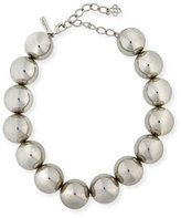 Oscar de la Renta Bold Beaded Single-Strand Necklace