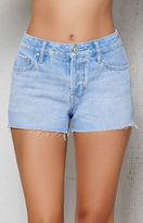 PacSun Clearwater Mid Rise Cutoff Denim Shorts