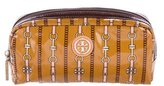 Tory Burch Coated Canvas Cosmetic Pouch