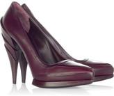Sculpted heel pumps