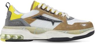 Premiata Drake Suede & Mesh Low-Top Sneakers