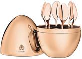 Christofle Mood Espresso Spoon Egg - Set of 6 - Rose Gold