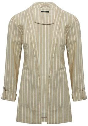 M&Co Striped linen blazer