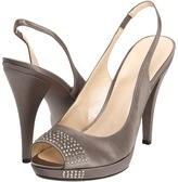 Nine West Grasshopper (Grey Satin) - Footwear