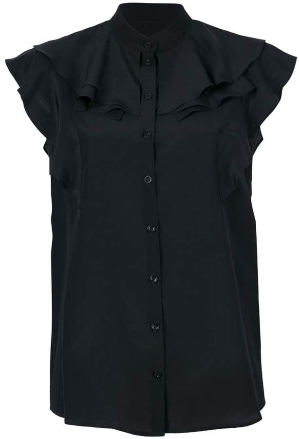 Givenchy frill-trim blouse