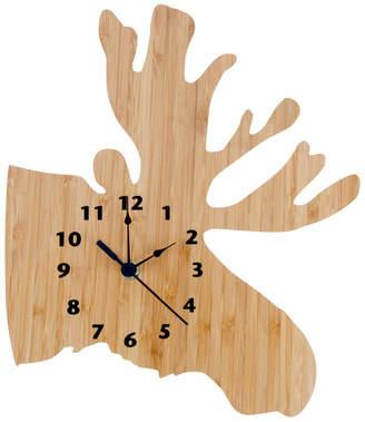 Trend Lab Bamboo Moose Wall Clock Bedding