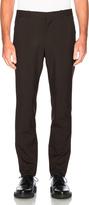 Marni Tropical Wool Slim Trousers