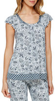 Ellen Tracy Jacquard Top