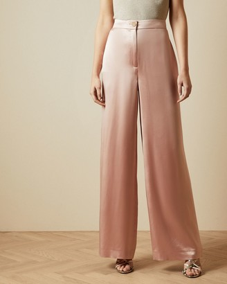 Ted Baker Satin Wide Leg Trousers