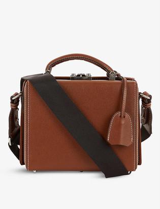 Mark Cross Gerald textured leather briefcase