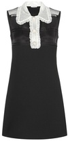 Miu Miu Wool-blend dress