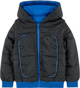Little Marc Jacobs 2 In 1 Reversible Padded Coat