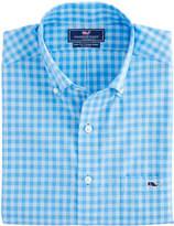 Vineyard Vines West Cay Gingham Slim Tucker Shirt
