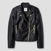 Art Class Girls' Moto Jacket Outerwear Art Class - Black