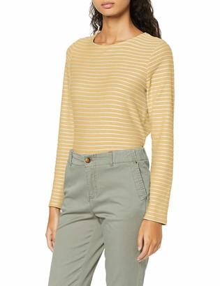Only Women's ONLELLY Stripe L/S Bow TOP NOOS JRS Blouse
