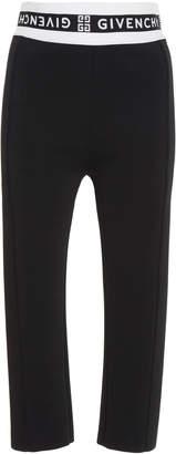 Givenchy Jacquard-Trimmed Tech-Jersey Skinny Pants