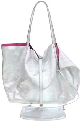 Tiffany & Co. \N Silver Leather Handbags