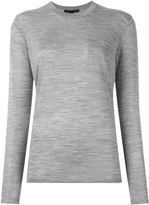 Alexander Wang crew neck sweater - women - Silk/Merino - XS