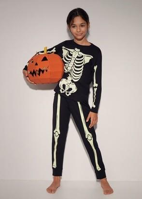 MANGO Skeleton organic cotton pyjama pack