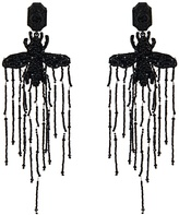 Gucci Bead-embellished bee earrings