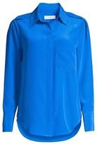 Equipment Cherilene Button-Up Silk Blouse