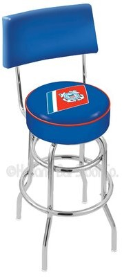 "Holland Bar Stool US Armed Forces 30"" Swivel Bar Stool Branch: Coast Guard"
