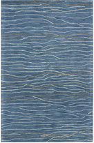 "Kenneth Mink Waves 8'6"" x 11'6"" Area Rug, Only at Macy's"