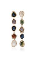 Kimberly McDonald Five Petite Geode and Irregular Diamond Earrings
