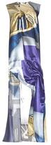 Acne Studios Cosima Print Satin gown
