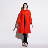 Russ '70s Red Bonnie Cashin Coat