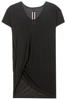 Rick Owens Silk-blend T-shirt