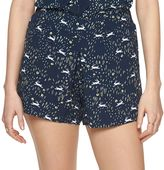 Disney Disney's Alice In Wonderland a Collection by LC Lauren Conrad Pleated Soft Shorts - Women's
