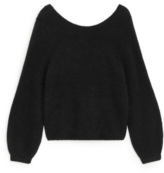 Arket Scoop Neck Wool Jumper