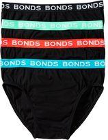 Bonds 4 Pack Hipster Brief