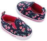 Carter's Girls' Baby Soft Sole Slip on Sneaker