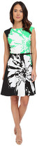 Christin Michaels Millfiori Flower Dress
