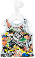 Kenzo Cartoon Cactus tank top - kids - Cotton - 3 mth