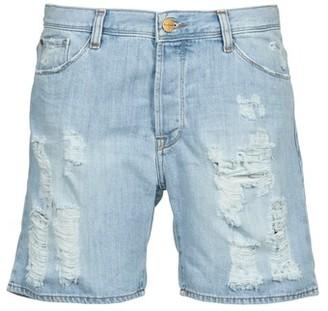 Acquaverde BOY SHORT women's Shorts in Blue