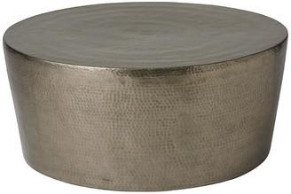 Global Views Surrey Coffee Table - Silver