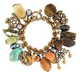 Stephen Dweck Multistone Charm Bracelet