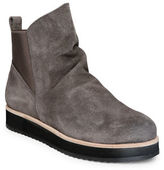 Patricia Green Charley Suede Round Toe Ankle Boots