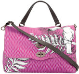 Zanellato feather print Postina satchel - women - Polyester - One Size