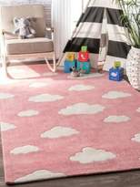 nuLoom Kinderloom Cloudy Sachiko Rug