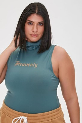 Forever 21 Plus Size Heavenly Turtleneck Top