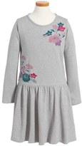 Tea Collection Ayame Embroidered Dress (Toddler Girls, Little Girls & Big Girls)