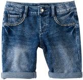 Vanilla Star Girls 7-16 Bling Pocket Bermuda Jean Shorts