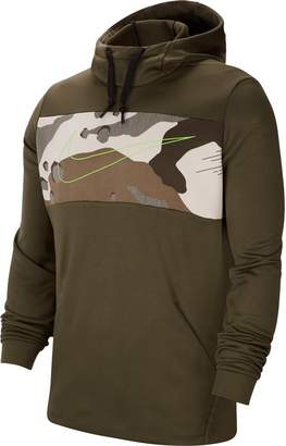 Nike Men's Therma Hooded Pullover Training Top