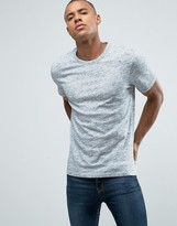 Jack and Jones Slim T-Shirt In Melange